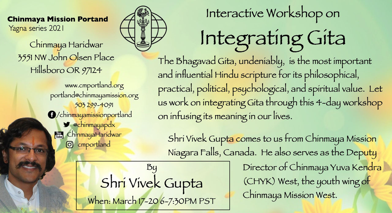 Interactive Workshop on Integrating Gita