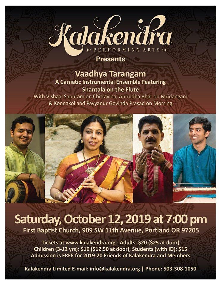 Kalakendra Presents Vaadhya Tarangam A Carnatic Instrumental Ensemble