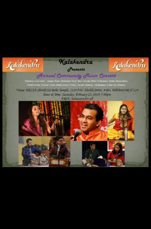 Kalakendra Annual Community Music Concert 2019