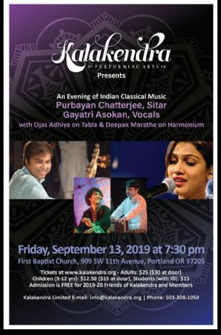 Kalakendra Presents An Evening of Indian Classical Music